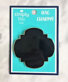 Simply Southern Simply Tote Charm - Black