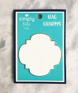 Simply Southern Simply Tote Charm - White