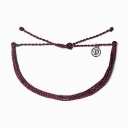 Puravida Solid Burgundy Bracelet