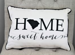 Home Sweet Home State Pillow