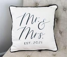 Dreamer Mr. & Mrs. Established Pillow