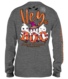 Simply Southern Boo Long Sleeve T-Shirt - YOUTH