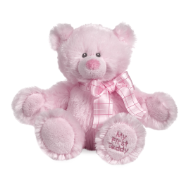 My First Teddy - Pink - 8""