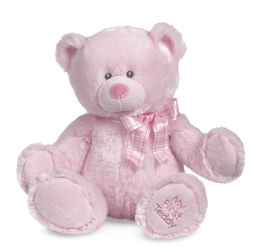My First Teddy - Pink - 14""