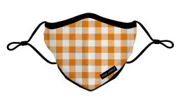 Simply Southern Fall Gingham Face Mask - YOUTH