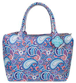 Simply Southern Large Simply Tote Insert - Paisley