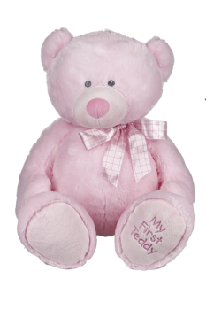 My First Teddy - Pink - 25""