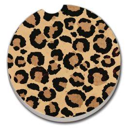 Leopard Print Car Coaster