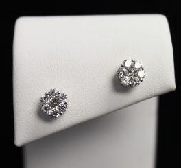 Sterling CZ Earrings
