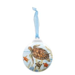 Sea Turtle Coastal Ornament