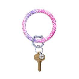 Pink Cheetah O-Venture Key Ring