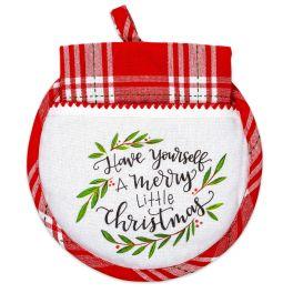 Merry Little Christmas Hot Pad & Tea Towel Set