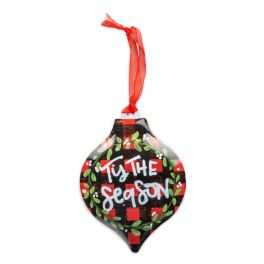 Tis The Season Personalizable Ornament