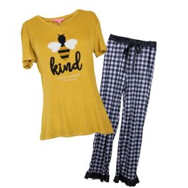 Simply Southern Youth Pajama Set - Be Kind