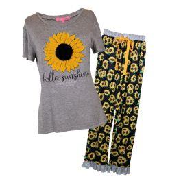 Simply Southern Youth Pajama Set - Sunshine