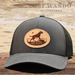 Marsh Lab Hat - Charcoal & Black