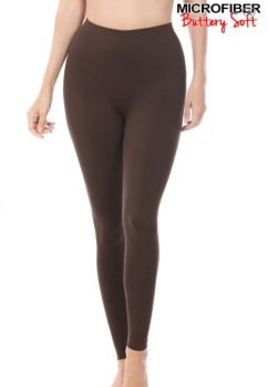 On The Run Leggings - Chocolate