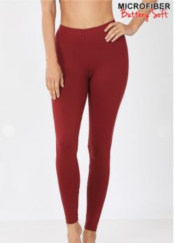 On The Run Leggings - Brick Red
