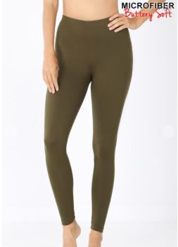 On The Run Leggings - Dark Olive