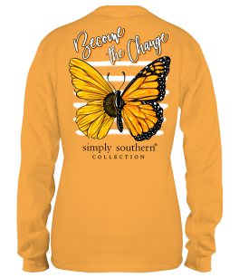 Simply Southern Become The Change Long Sleeve T-Shirt - YOUTH