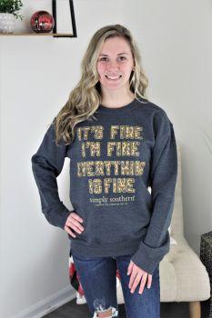 Simply Southern Fine Crewneck Sweatshirt