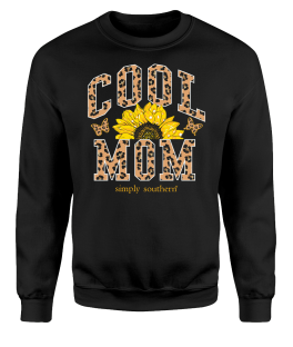 Simply Southern Cool Mom Crewneck Sweatshirt