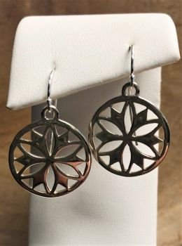 Southern Gates Floral Dangle Earrings
