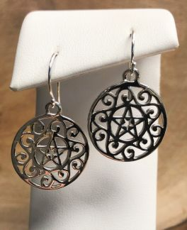 Southern Gates Star Dangle Earrings