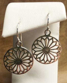 Southern Gates Small Cathedral Scroll Dangle Earrings