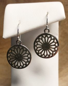 Southern Gates Cathedral Scroll Dangle Earrings