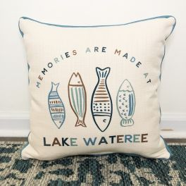 Memories Are Made At The Lake Pillow