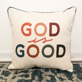 God Is Good Pillow