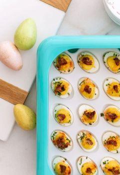 Fancy Panz White Egg Tray Insert