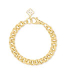 Kendra Scott Vincent Chain Bracelet In Gold - M/L