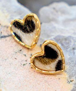 Stole Your Heart Earrings - Cream