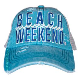 Simply Southern Beach Weekend Pony Hat