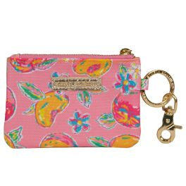 Simply Southern ID Coin Purse Keychain - Peachy