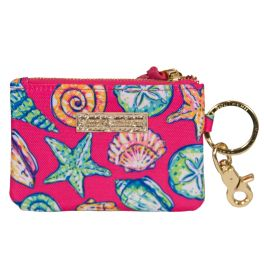 Simply Southern ID Coin Purse Keychain - Shell