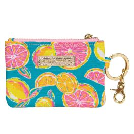 Simply Southern ID Coin Purse Keychain - Zest