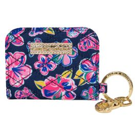 Simply Southern ID Wallet Keychain - Butterfly
