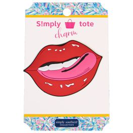 Simply Southern Simply Tote Charm - Lips