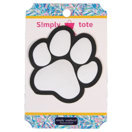 Simply Southern Simply Tote Charm - Paw Print