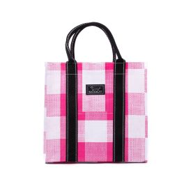 Scout Totes-Ma-Goat Tote - Pink Check