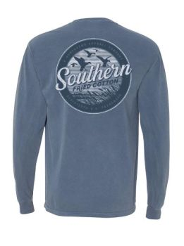 Southern Fried Cotton Ducks In The Marsh Long Sleeve T-Shirt