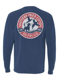 Southern Fried Cotton Fall Pheasant Long Sleeve T-Shirt