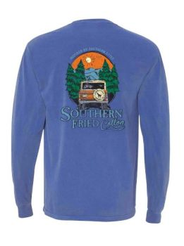 Southern Fried Cotton Mountain Calling Long Sleeve T-Shirt