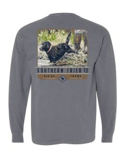 Southern Fried Cotton Waters Edge Long Sleeve T-Shirt