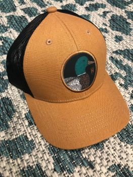Heybo Greenhead Canvas Trucker Hat