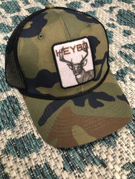 Heybo Old School Deer Trucker Hat