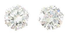 Sterling Silver 8CTTW Cubic Zirconia Earrings
